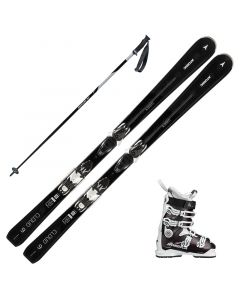 2019 Atomic Cloud 9 Women's Skis w/ Nordica Sport Machine 85w Boots and Poles