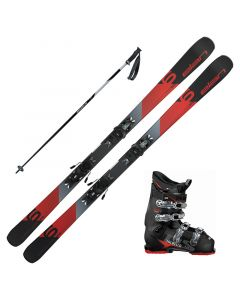 2019 Elan Explorer 6 Red Skis w/ Dalbello DS MX 65 Boots and Poles
