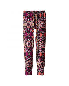 Hot Chillys Girl's MTF Print Ankle Tight