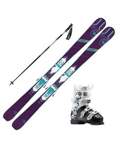 2019 Rossignol Experience 74 Women's Skis w/ Rossignol Kelia 50 Boots and Poles