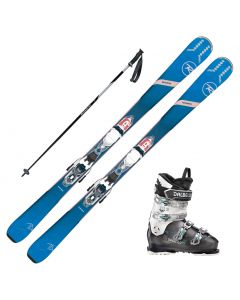 2020 Rossignol Experience 74 Women's Skis w/ Dalbello DS MX 75w Boot and Poles