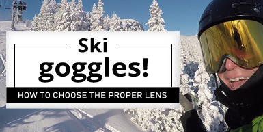 Ski Goggles! How to Choose the Proper Lens -  Intro Image