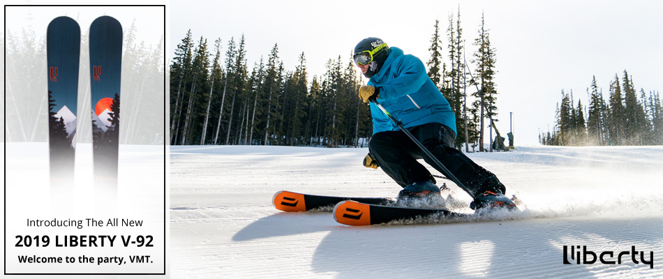 a200197e22f Chairlift Chat - 2019 Liberty V-92 Ski Review