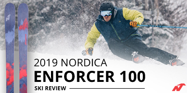 2019 Nordica Enforcer 100 Ski Review -  Intro Image