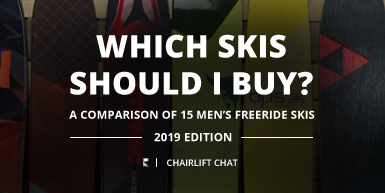 Which Skis Should I Buy? Comparing Men's Freeride Skis - 2019 Edition -  Intro Image