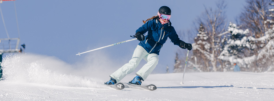 2020 Nordica Santa Ana 88 Ski Review: Wide Action Image 1