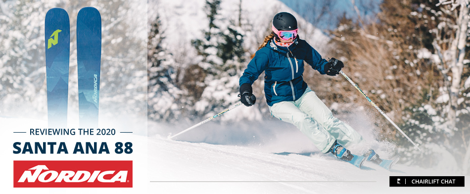 2020 Nordica Santa Ana 88 Ski Review: Lead Image