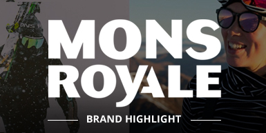 Mons Royale Brand Highlight -  Intro Image
