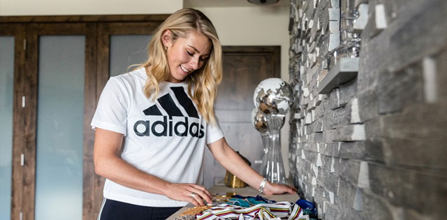 Top Five Fridays August 16, 2019: Mikaela Shiffrin Adidas Image
