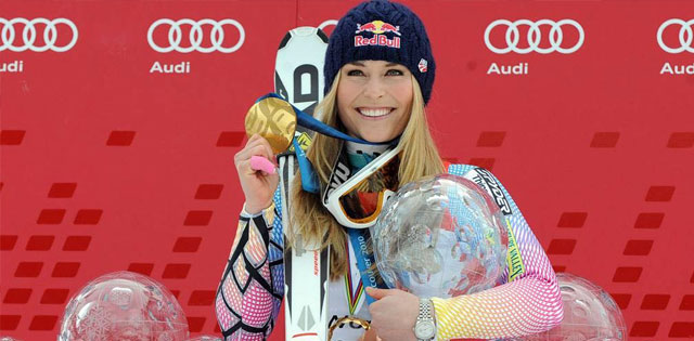 Top Five Fridays July 19, 2019: Lindesy Vonn Victory Image