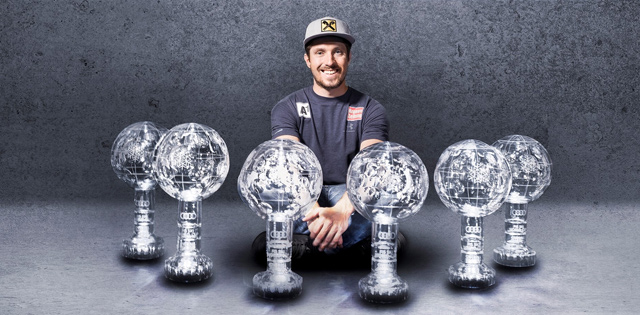 Top Five Fridays September 6, 2019: Marcel Hirscher Crystal Globe Image