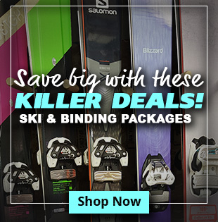 Killer Deals - Ski & Binding Packages
